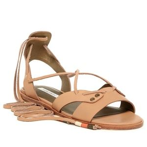 Cynthia Vincent Fatine Leather Sandal